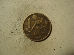 MONNAIE TCHECOSLOVAQUIE 1 KORUNA 1969 - Tschechoslowakei