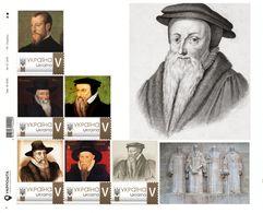Ukraine 2019, Protestant Reformation, Théodore De Bèze, Sheetlet Of 6v - Ukraine