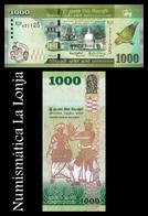 Sri Lanka 1000 Rupees Commemorative 2018 Pick 130 SC UNC - Sri Lanka