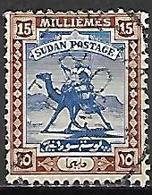 SOUDAN    -   1927  .  Y&T N° 42 Oblitéré - Sudan (1954-...)