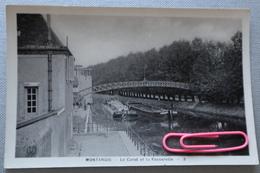 MONTARGIS : Le Canal Et La Passerelle - Montargis