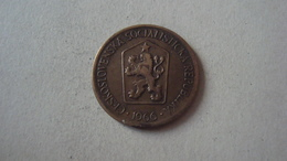 MONNAIE TCHECOSLOVAQUIE 1 KORUNA 1966 - Tschechoslowakei