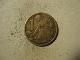 MONNAIE TCHECOSLOVAQUIE 1 KORUNA 1964 - Tschechoslowakei