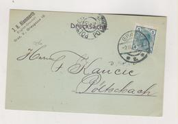 AUSTRIA 1906  GRAZ  J.K. KLAMMERTH Firm  Postcard - Covers & Documents