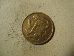 MONNAIE TCHECOSLOVAQUIE 1 KORUNA 1962 - Tschechoslowakei