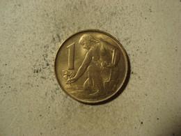 MONNAIE TCHECOSLOVAQUIE 1 KORUNA 1992 - Tschechoslowakei