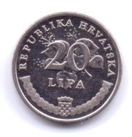HRVATSKA 2013: 20 Lipa, KM 7 - Croatia