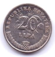 HRVATSKA 2005: 20 Lipa, KM 7 - Croatia