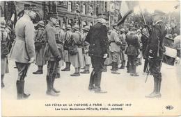 PARIS : LA FETE DE LA VICTOIRE 14 JUILLET 1919 - France