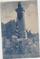 Deinze - Monument Van Dorpe -  Niet Gelopenen Kaart - Deinze
