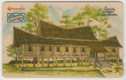 MALAYSIA (Uniphonekad)- Rumah Negri, Houses, , CN:33MSAA, 1992, TIRAGE 500.000, Used - Malaysia