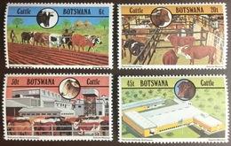 Botswana 1981 Cattle Industry Animals MNH - Botswana (1966-...)
