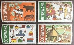 Botswana 1982 Children's Art MNH - Botswana (1966-...)