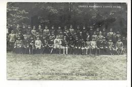 SOL 397 - GRANDES MANEUVRES D ARMEE EN 1908 - Manoeuvres
