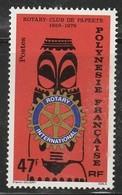 POLYNESIE - N°145 ** (1979)  Rotary Club - Neufs