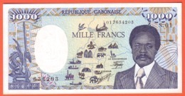 Billet GABON - 1.000 Francs 01 01 1985 Pick 9 - UNC - Gabun