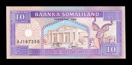 Somalilandia Somaliland 10 Shillings 1994 Pick 2a SC UNC - Otros – Africa
