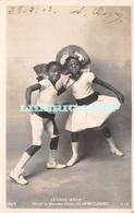 MAGNIFIQUE SÉRIE DE 8 CPA►1903►LE NOUVEAU CIRQUE►DANSE►LE CAKE-WALK►LES ENFANTS NÈGRES►S.I.P 142► - Circus
