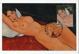 51382 Italia, Maximum 2020 Painting Of  Amedeo Modigliani,   (staatsgalerie Stuttgart) - Andere
