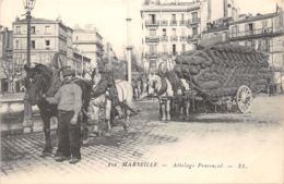 13-MARSEILLE-ATTELAGE PROVENCAL-N°2040-H/0379 - Marseille