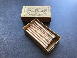 Boite D'allumettes Guerre 14-18 -  Complète Et Intacte - Zündholzschachteln
