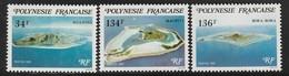 POLYNESIE - N°171/3 ** (1981) - Neufs