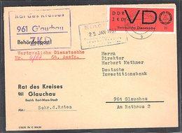 DDR.ZKD-Brief, EF. Mi.-Nr. VD 3y - Official