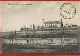 88 -ISENBURG - Rufach I. Els- Circulée 1918 Trésor Et Postes- Scans Recto Verso - France