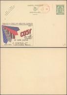 """Publibel N°249 """"La Plus Belle Cravate COSY"""" + PUB Au Profit Des Employés Chomeurs Et Empreinte Mécanique / Neuf - Enteros Postales"""
