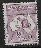 AUSTRALIA 1929 9d SG 108 FINE USED Cat £29 - 1913-48 Kangaroos
