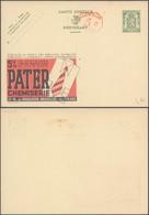 """Publibel N°227 """"Pater Chemiserie"""" + PUB Au Profit Des Employés Chomeurs Et Empreinte Mécanique / Neuf - Enteros Postales"""