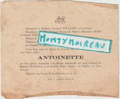 DAV : Vieux Papier : Décès : Env.. De Vire , Calvados  : Coulonces  1944 - Non Classificati