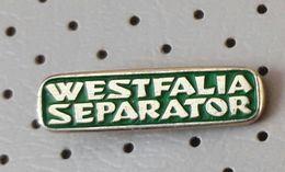 Slovenia Pin WESTFAILA Separator - Marques