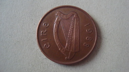 MONNAIE IRLANDE 2 PENCE 1988 - Ierland