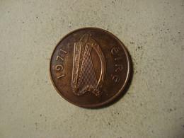 MONNAIE IRLANDE 2 PENCE 1971 - Ierland