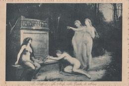 Cartolina - Postcard / Non Viaggiata - Unsent /  P. Duthort, Le Ninfe Sulla Tomba Di Adone - Malerei & Gemälde