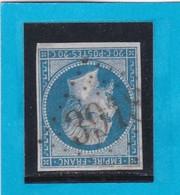 N° 14 B  -  GC  3918  TENCE   ( 41 )   HAUTE LOIRE    - REF 1447 + Variété - 1853-1860 Napoléon III