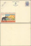 """Publibel Sans N° """"Cote D'or Bruxelles Exposition"""" + PUB Au Profit Des Employés Chomeurs Et Surcharge électrique 35 Roug - Enteros Postales"""