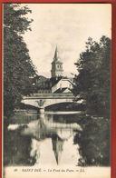 88 Saint-Dié- Vosges - Le Pont Du Parc - LL 50  -  - Scans Recto Verso - Saint Die