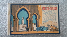 CARNET DE 17 CARTES POSTALES - MAISON CARREE - ALGERIE - Algérie