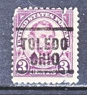 U.S. 555    Perf.  11   (o)   OHIO   1918-20   Issue - United States