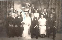 Famille M. Lopez Benoit Mécanicien Sebaa Aïoun Gare, à 22 Kms De Meknès, Route De Fès Maroc - Carte Photo - Meknès