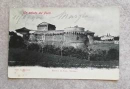 Cartolina Postale Forlì - Rocca Di Caterina Sforza 1904 - Forli