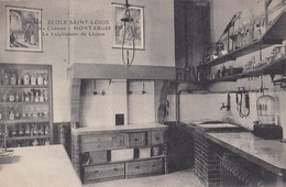 Montargis : (Série De 20 CP Ecole Saint-Louis) - N° 18 Le Laboratoire De Chimie - Montargis