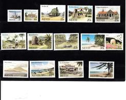 Nevis 1981 Mi Nr  46 - 59, Compleet, Postfris, Landschappen - St.Kitts E Nevis ( 1983-...)