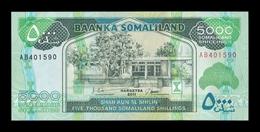 Somalilandia Somaliland 5000 Shillings 2011 Pick 21a SC UNC - Otros – Africa
