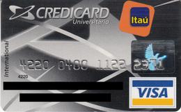 Brasil CreditCard Itau , Universitario , Visa - Credit Cards (Exp. Date Min. 10 Years)