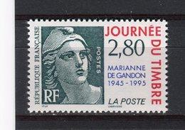 FRANCE - Y&T N° 2934** - MNH - Journée Du Timbre - Marianne De Gandon - Unused Stamps