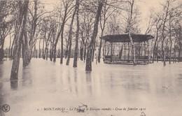Montargis : Le Pâtis Et Le Kiosque à Musique - Crue De Janvier 1910 - Montargis