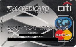 Brasil Credicard Citi Universitario , MasterCard - Credit Cards (Exp. Date Min. 10 Years)